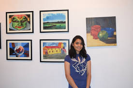 my first ever painting exhibition