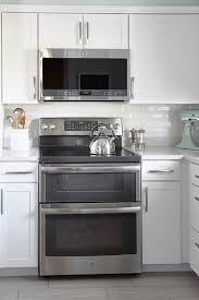 arcadia white kitchen cabinets lowes white shaker lowe s arcadia cabinets frame a ge stainless