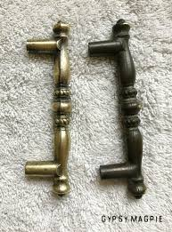 how to clean brass cabinet knobs my cleaning tarnished brass hardware experiment