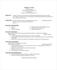 Resume For Mechanical Engineer 37 Engineering Resume Examples Free U0026 Premium Templates