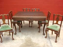 antique dining room table and chairs for sale vintage dining room chairs dining room sets from iron vintage dining