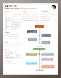 artsy resume templates 21 free résumé designs every needs