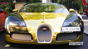 ferrari gold and black gold bugatti veyron youtube