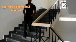 learn stair sliding in 2 minutes slide on stair stair rider on