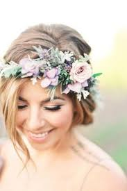 flower crowns 30 photos of bridal flower crowns for a wedding day look