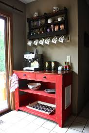 Vintage Small Kitchen In Home Best 25 Home Coffee Bars Ideas On Pinterest Home Coffee