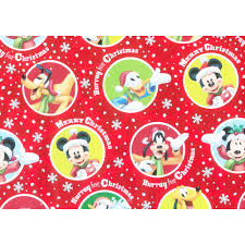 mickey mouse wrapping paper kids christmas wrapping papers happy holidays