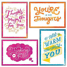 thinking of you cards 12 boxed thinking of you greeting cards thoughts of