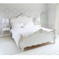 Bedroom Sets White Cottage Style Provencal Sassy White French Bed Double French Bed Bed