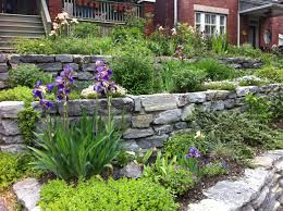 garden brick wall design ideas lawn u0026 garden outstanding terraced garden design with brick