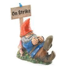 on strike garden gnome wholesale at koehler home decor