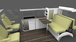 campervan flat pack furniture units vw t5 transporter rib beds