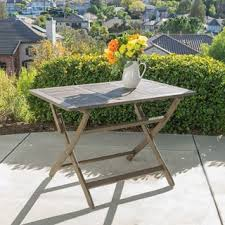 Wooden Folding Dining Table Safavieh Outdoor Living Dilettie Grey Rectangle Folding Dining