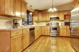 yellow oak cabinets kitchen the perfect home design