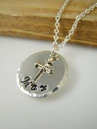 baptism necklace personalized boy baptism cross necklace baptism name necklace for