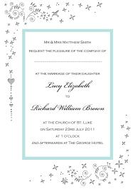 sle of wedding invitation wedding invitation words sle wedding invitation