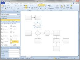 visio guy shift flowchart shapes automatically