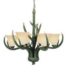 Faux Antler Chandelier Lamp Lighting Authentic Looking Deer Antler Chandelier For Your