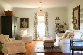 sofas center white slipcovered sofa modern living room furniture