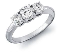 wonderful engagement ring with 3 diamonds 31 for with - 3 Engagement Ring