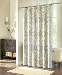 Round Shower Curtain Rod For Corner Shower 80 Shower Curtain Rod Cintinel Com