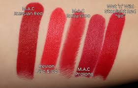 tutorial lipstik revlon revlon fire ice vintage or tacky