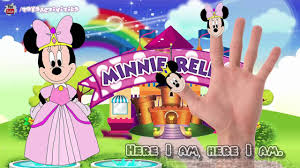 mickey mouse clubhouse minnie rella finger family song