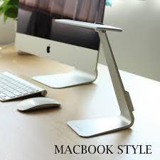 le de bureau tactile protection des yeux led le de bureau mac style tactile capteur