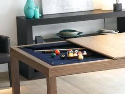 Dining Room Pool Table Combo Pool Table Coffee Table Image Of Indoor Dining Room Pool Table