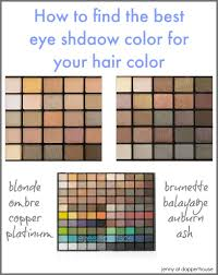 best eye shadows for your hair color
