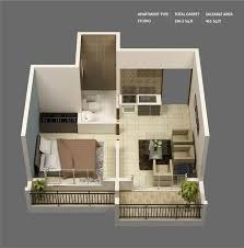 Best Apartment And House Plans Images On Pinterest - One bedroom designs