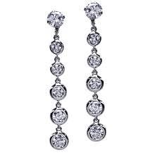 earring jackets for studs bezel drop earring jackets diamond ideals