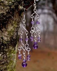 Wire Chandelier Earrings 1 Handmade Beaded Gemstone Earrings Twelve Steps To Recovery