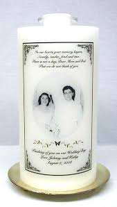 personalized candle memorial candles wedding unity candles personalized