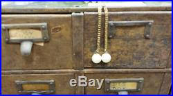 Library Catalog Cabinet Vintage Globe Metal Library Card Catalog Cabinet 15 Drawers