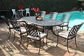 Cast Aluminum Patio Tables Kawaii Collection Outdoor Cast Aluminum Patio