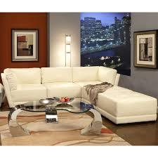 Coaster Sectional Sofa Coaster Furniture 500894 1 500895 2 Kayson 3 Piece White Sectional