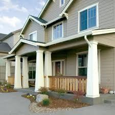 tapered porch columns wood craftsman teamns info