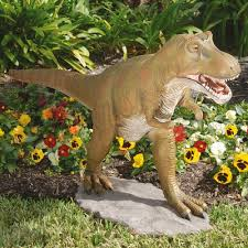 design toscano t rex dinosaur garden statue reviews wayfair
