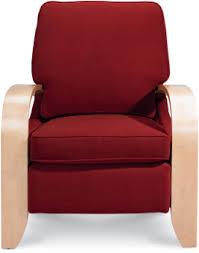 La Z Boy Duncan Reclining by Carlyle High Leg Recliner Brown U0027s Furniture Showplace