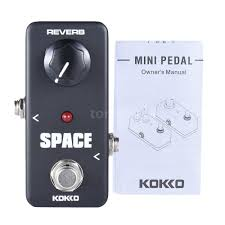 kokko frb2 mini space reverb pedal portable guitar effect pedal p0d5