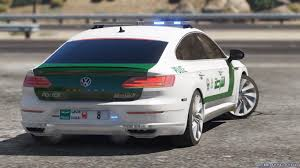 volkswagen dubai add on oiv 2018 volkswagen arteon dubai police 1 0 for gta 5