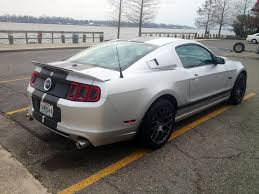 Mustang Black Matte 2013 Matte Striped Gt The Mustang Source Ford Mustang Forums