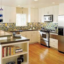 Blue Yellow Kitchen - kitchen ideas and kitchen decorating ideas southern living