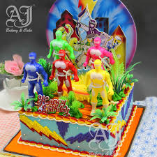 aj bakery u0026 cake shop aj products power rangers bc 7