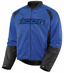 blue motorcycle jacket buy icon hooligan 2 mesh jackets online