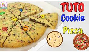 jeux de cuisine de pizza au chocolat recette pizza cookie facile et rapide