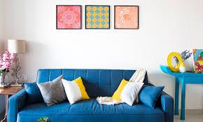 interior design fresh on popular orange and black artwork ideas