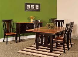 amish dining room amish custom furniture