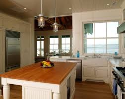 kitchen island lighting rustic with glass pendant lights for and 5
